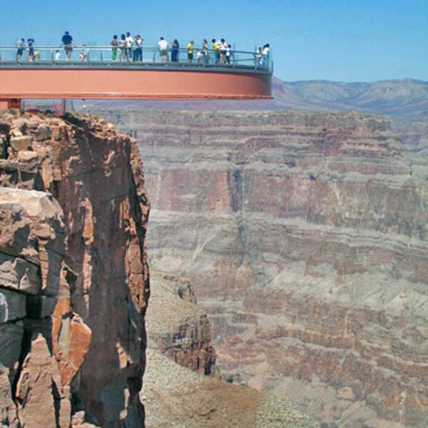 Grand Canyon Skywalk - Arizona - Doets Reizen