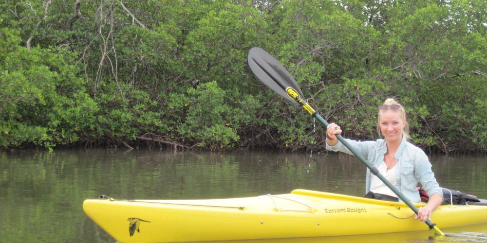 Kajakken Captiva Island - Florida - Doets Reizen