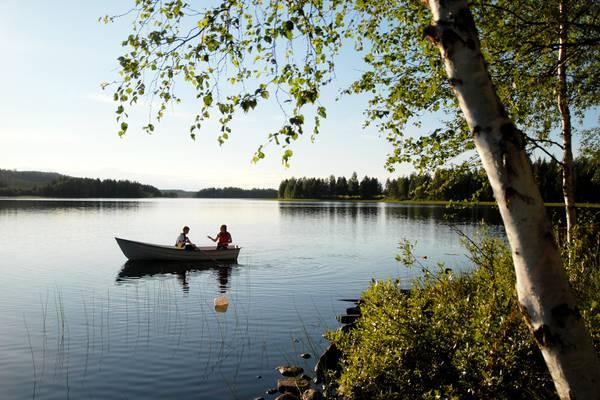 Boot in Norrbotten - Doets Reizen - Vakantie in Zweden - Credits Visit Sweden