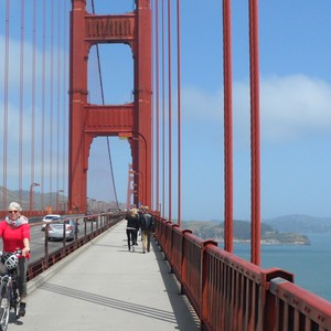 Fietsen over de Golden Gate - Dag 3 - Foto