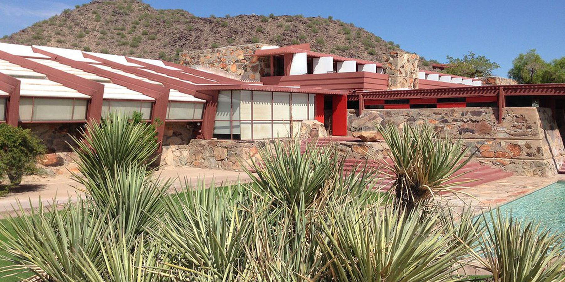 Frank Lloyd Wright's Taliesin West - Phoenix - Arizona - Doets Reizen