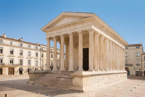 Maison_Carree._Crédit_Photo_Office_Tourisme_Nimes_O.Maynard - Doets Reizen Frankrijk