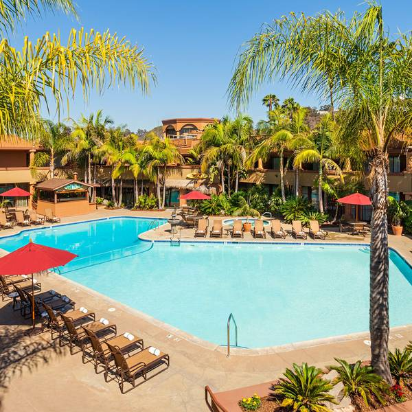 Handlery Hotel San Diego Pool 2