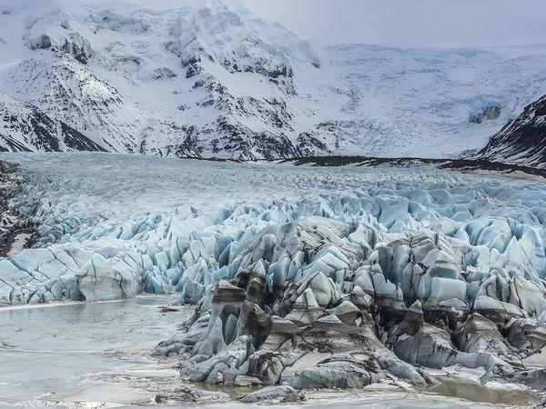 Svínafellsjökull Glacier - IJsland - Doets Reizen