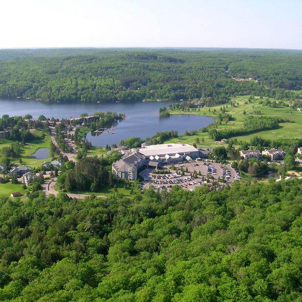 Deerhurst Resort - luchtfoto
