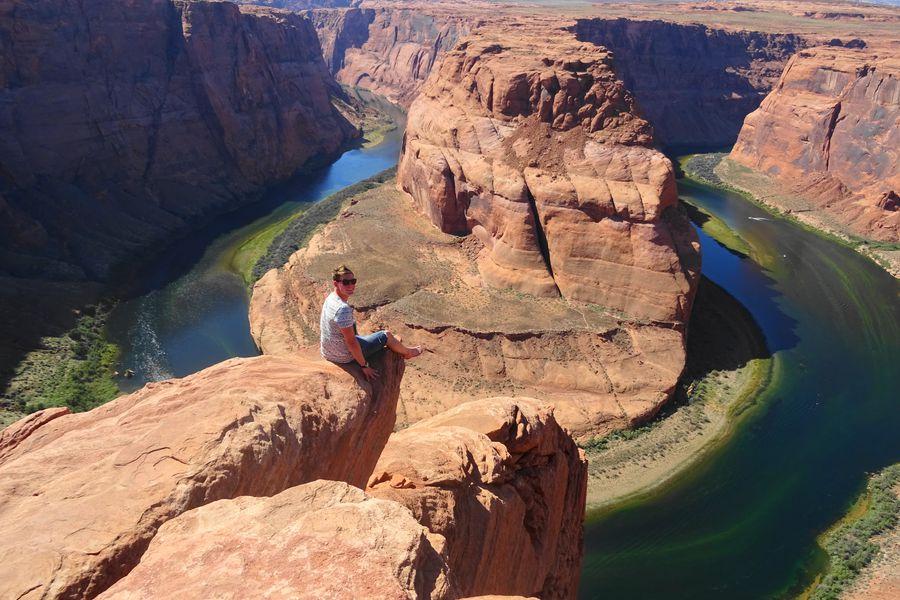Horseshoe Bend in Page, Arizona