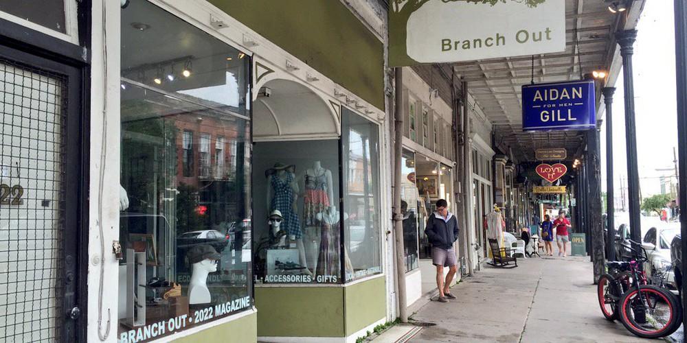 Magazine Street New Orleans Lousiana