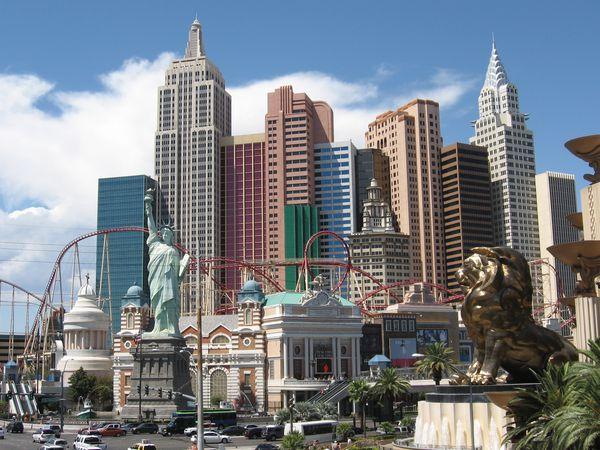 New York New York - Hotel - Las Vegas - Nevada - Doets Reizen