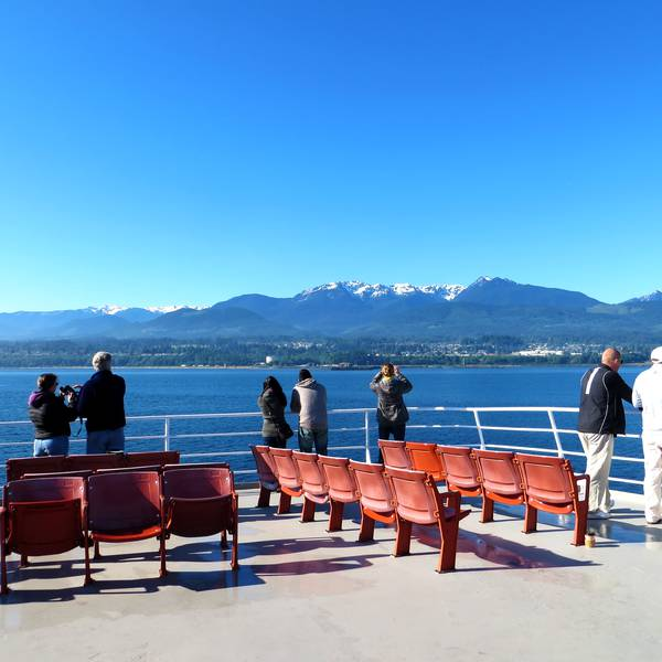 Black Ball Ferry - Victoria - Vancouver Island - British Columbia - Canada - Doets Reizen