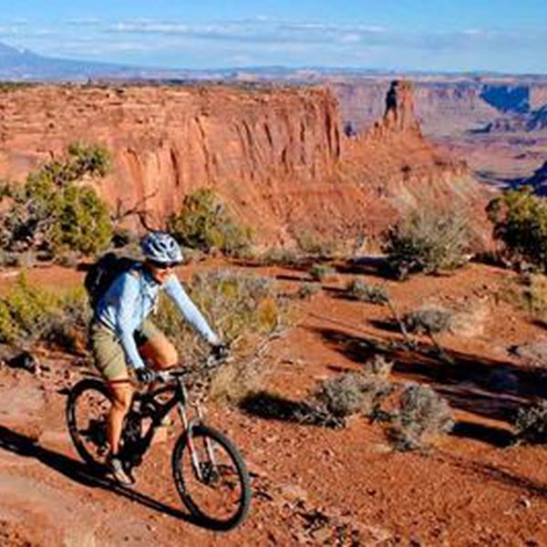 Mountainbiken in Moab, Utah
