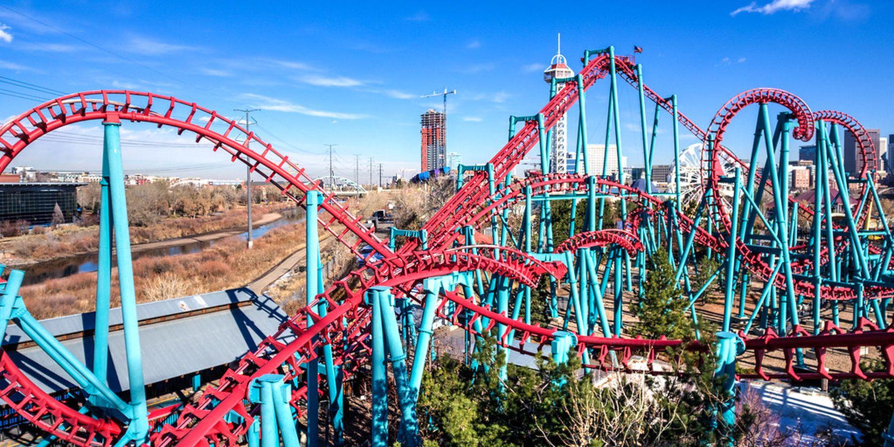 Elitch Gardens Theme Park - Denver - Colorado - Doets Reizen