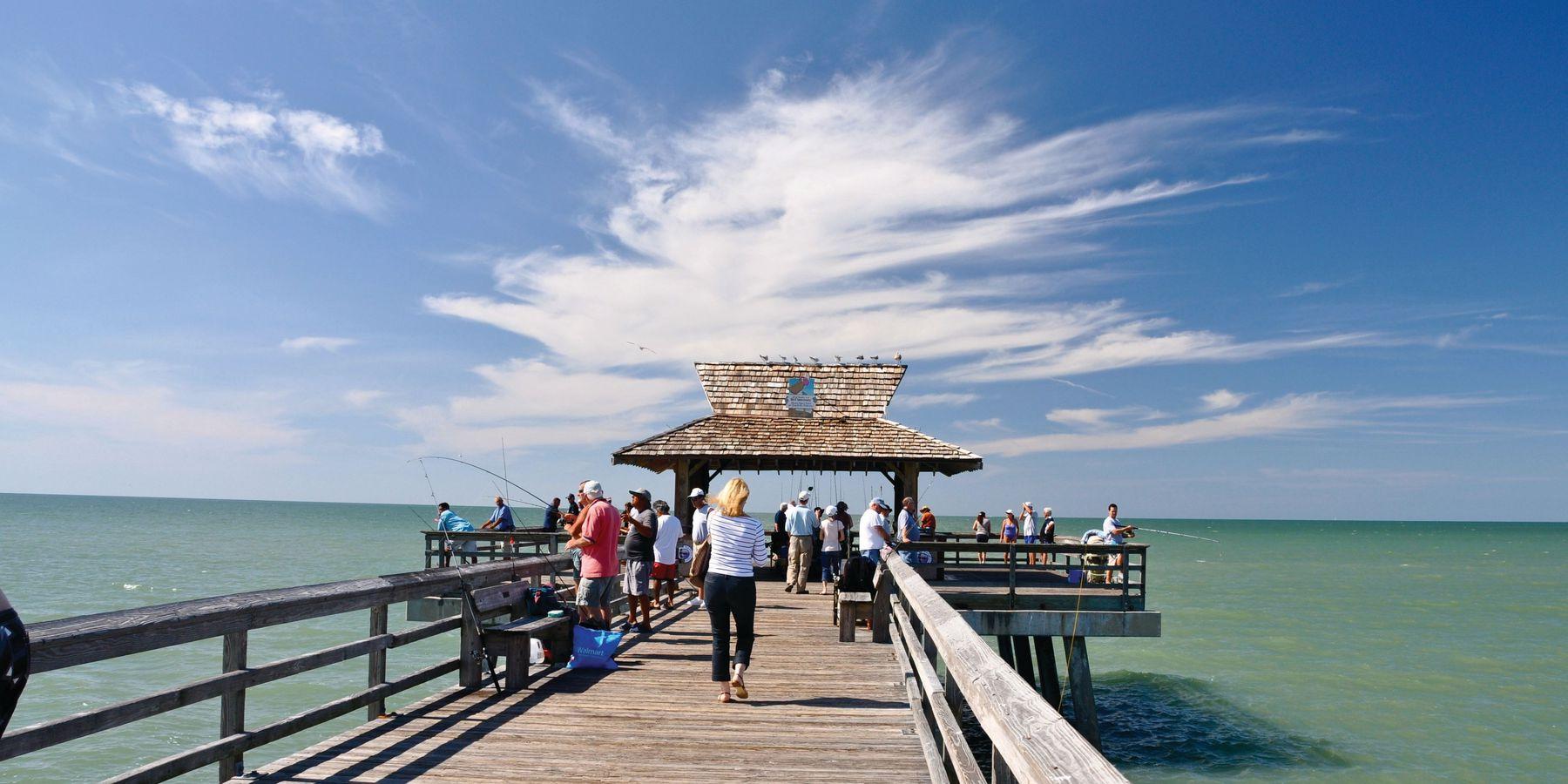 Naples Pier - Florida - Doets Reizen
