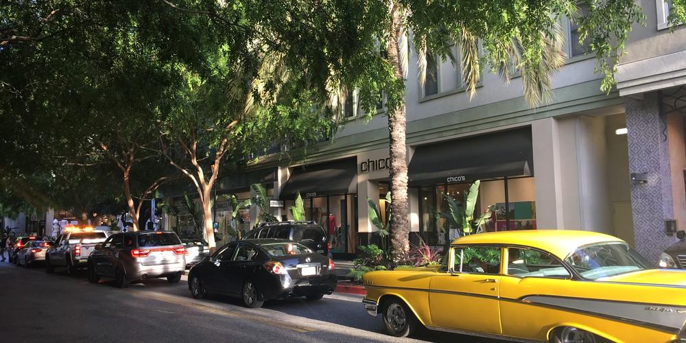 Santana Row - Silicon Valley - California - Amerika - Doets Reizen