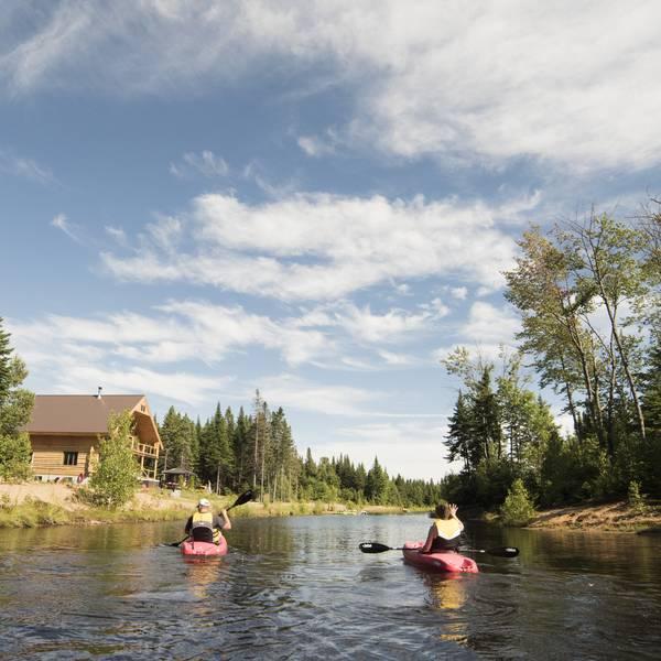 Au Chalet en Bois Rond - Kayak