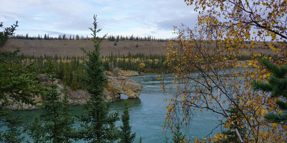 Five Finger Rapids - Yukon - Canada - Doets Reizen