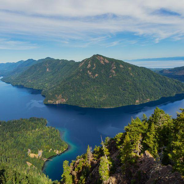 Lake Crescent - Olympic National Park - Washington State - Amerika - Doets Reizen