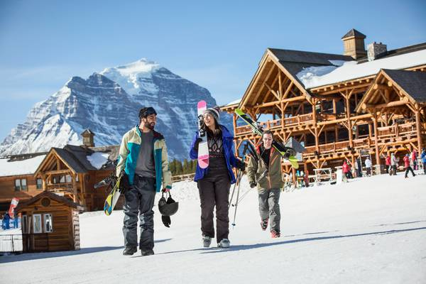 Wintersport Banff Canada