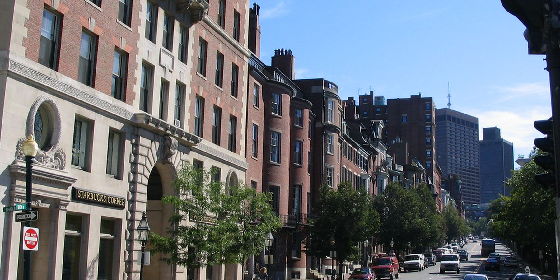 Beacon Hill - Boston - Massachusetts - Doets Reizen
