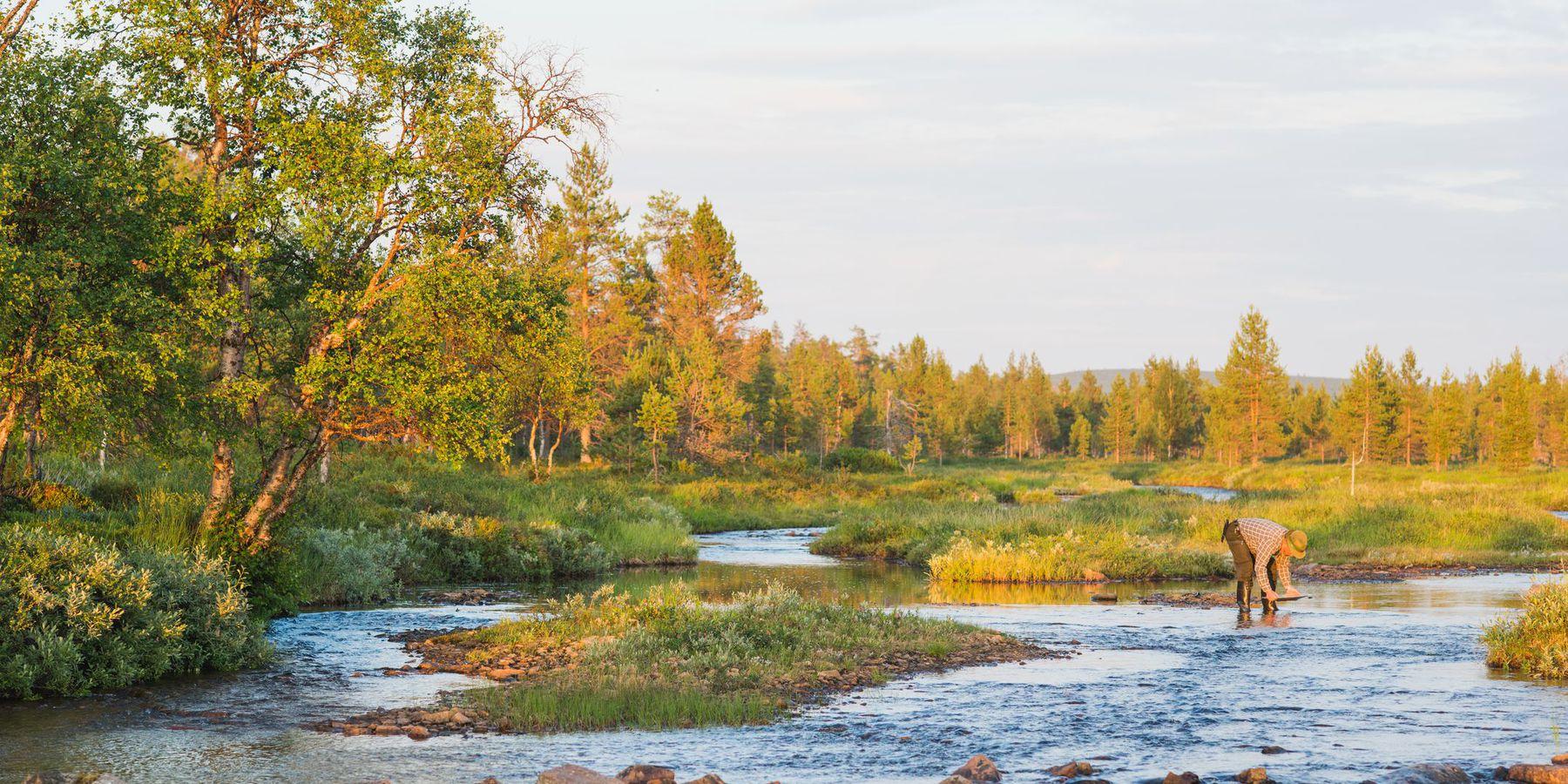 Goud zoeken in Lapland - Doets Reizen - Vakantie Finland - Credits: VisitLapland.com