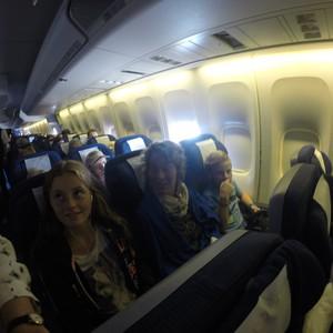 Flying back home...... - Dag 27 - Foto