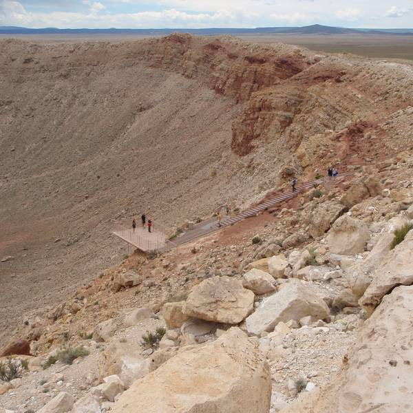 Barringer Meteor Crater - Arizona -  Doets Reizen
