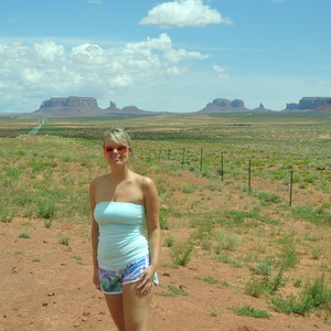 Monument Valley - reis naar Bryce Canyon. - Dag 24 - Foto