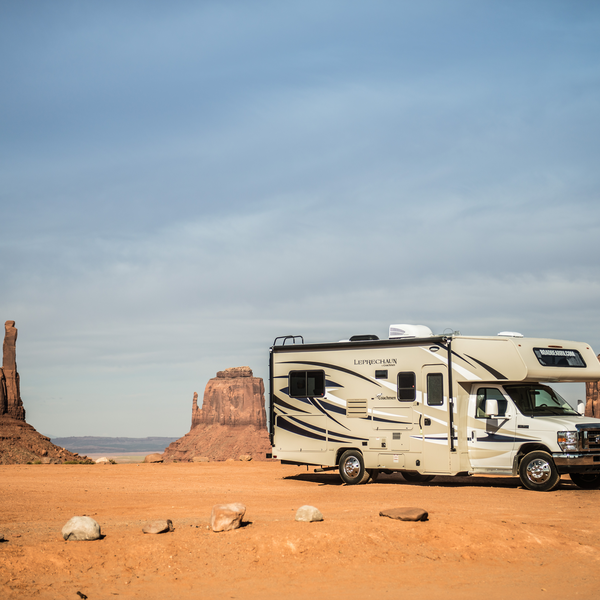 Genieten met de camper in Monument Valley