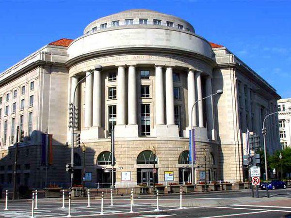 Ronald Reagan Building - Washington D.C. - Doets Reizen
