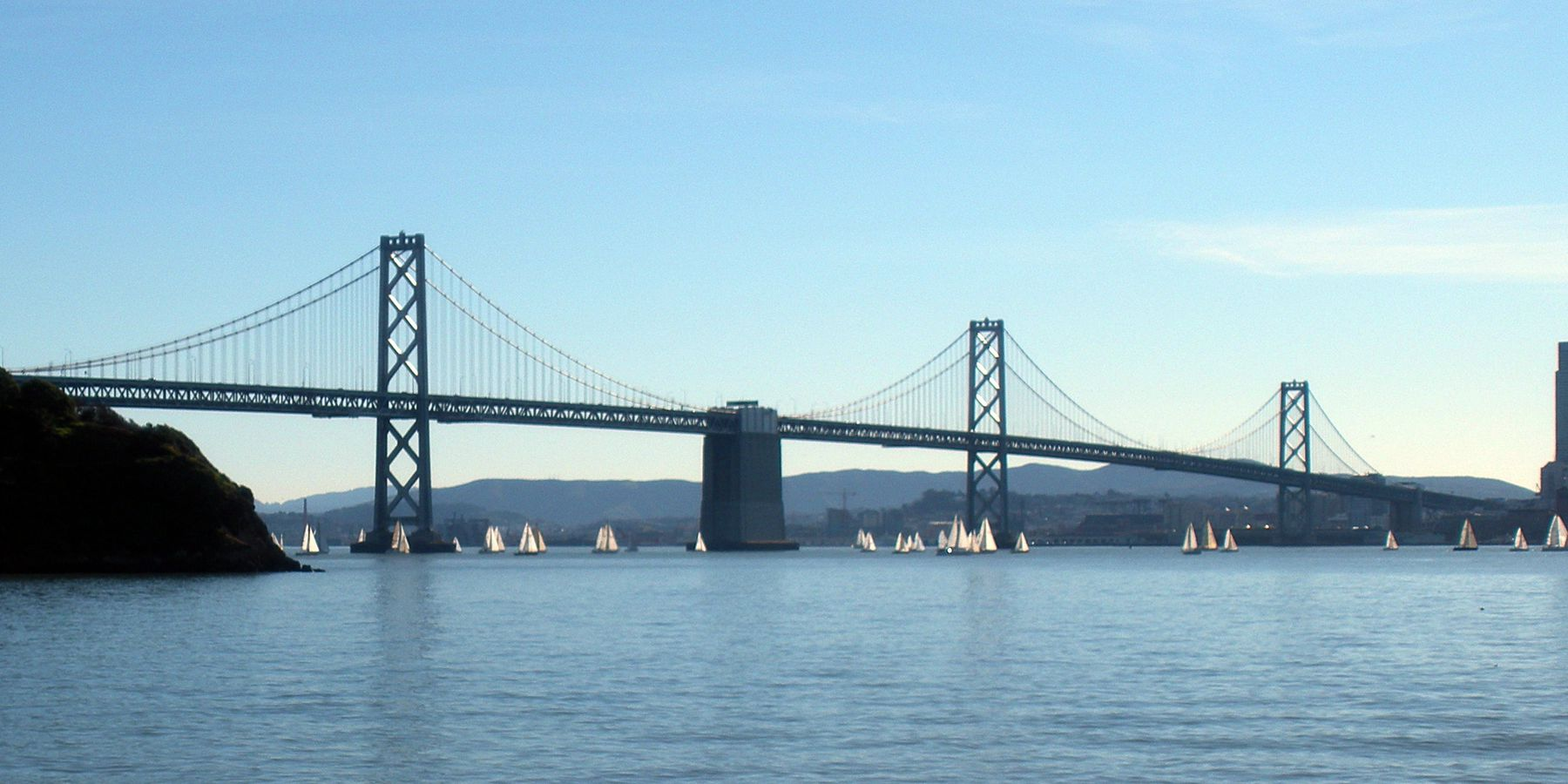 Bay Bridge - San Francisco - Amerika - Doets Reizen