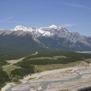 Helikoptervlucht over de Rockies en het laatste stuk van de Icefields Parkway - Dag 19 - Foto