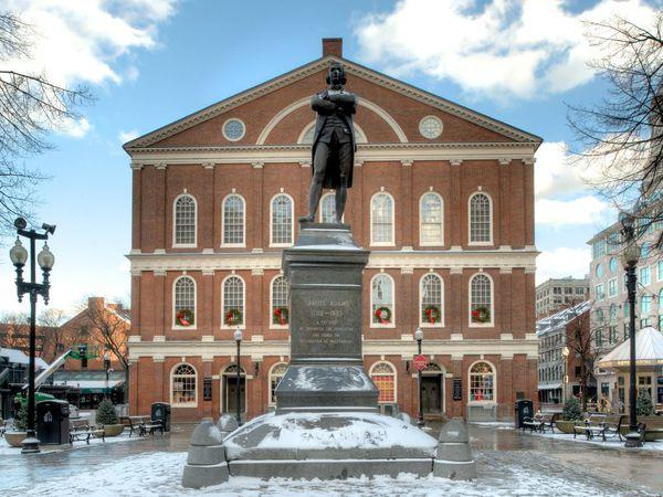 Faneuil Hall - Boston - Massachusetts - Doets Reizen