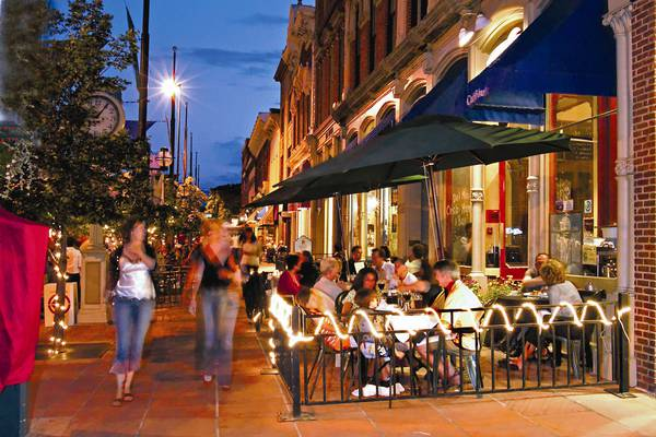 Larimer Square - Denver - Colorado - Doets Reizen