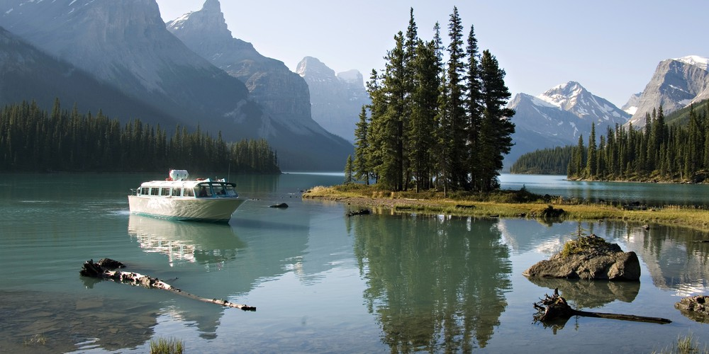 Maligne Canyon Cruise - Jasper National Park - Alberta - Canada - Doets Reizen