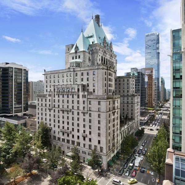 Fairmont Vancouver Hotel -  buitenkant