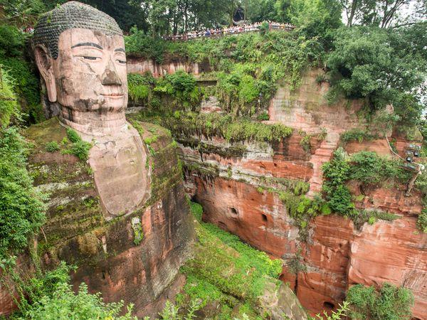 Giant Buddha - Chengdu - China - Doets Reizen