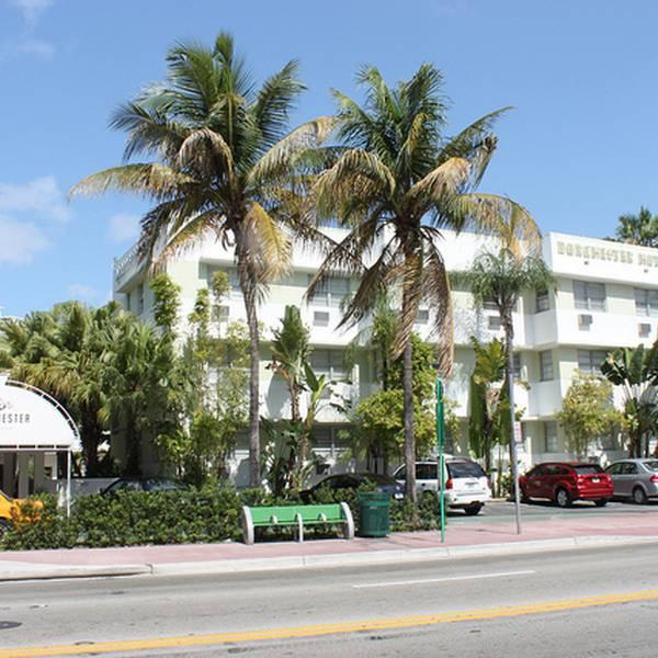 Dorchester hotel - aanzicht