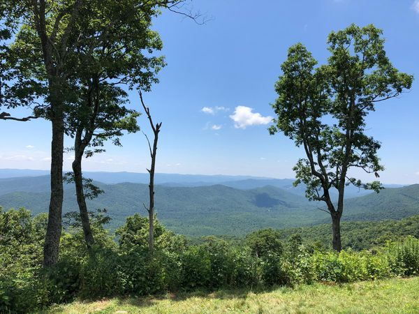 Appalachian Mountains - Blueridge Parkway - North Carolina - Amerika - Doets Reizen