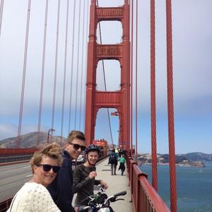 Op de fiets over the Golden Gate bridge - Dag 18 - Foto