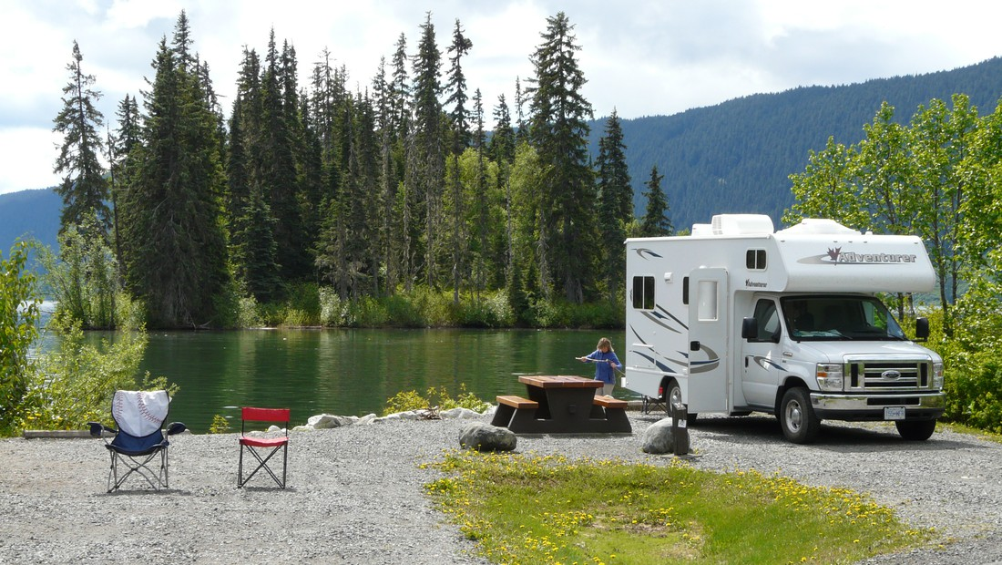 Camping West Canada
