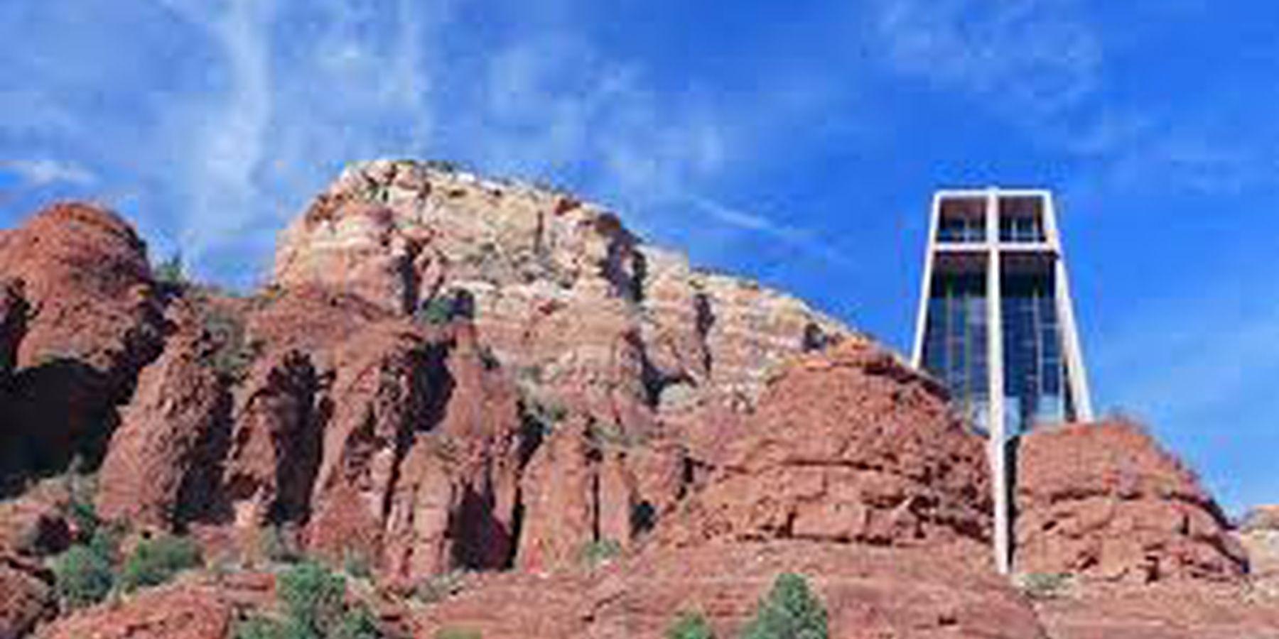 Chapel of the Holy Cross - Sedona - Arizona - Doets Reizen