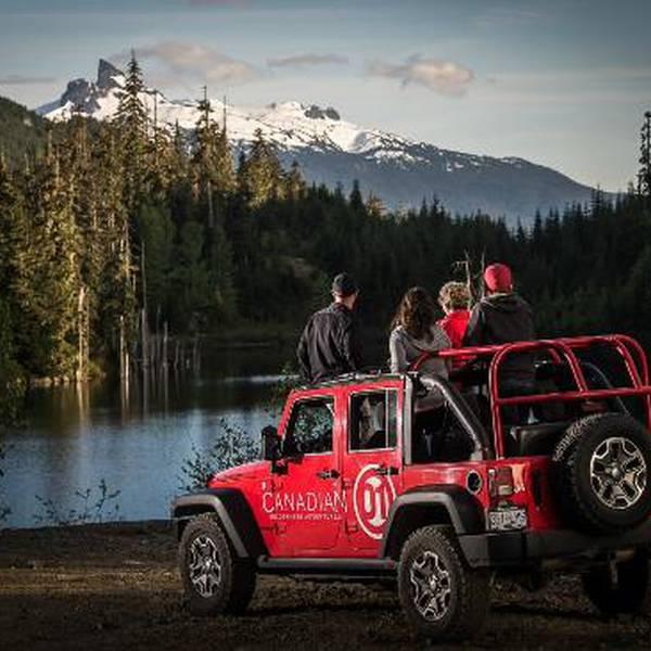 Jeep Tour Whistler - British Columbia - Canada - Doets Reizen