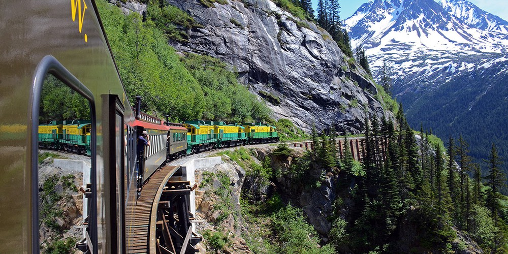 White Pass Summit Excursion - Skagway - Alaska - Doets Reizen