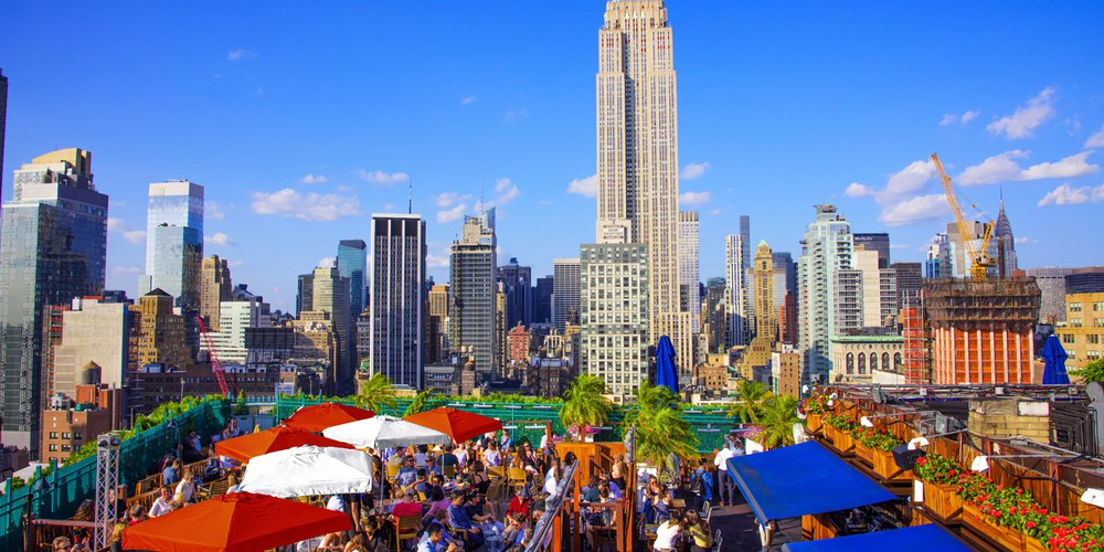 230 Fifth Rooftop Lounge - New York - Doets Reizen