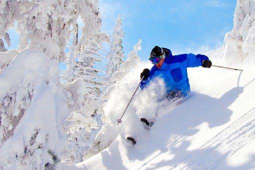 Wintersport Big White Canada