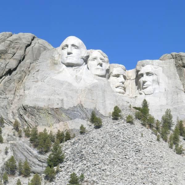 Mount Rushmore National Memorial - South Dakota - Amerika - Doets Reizen