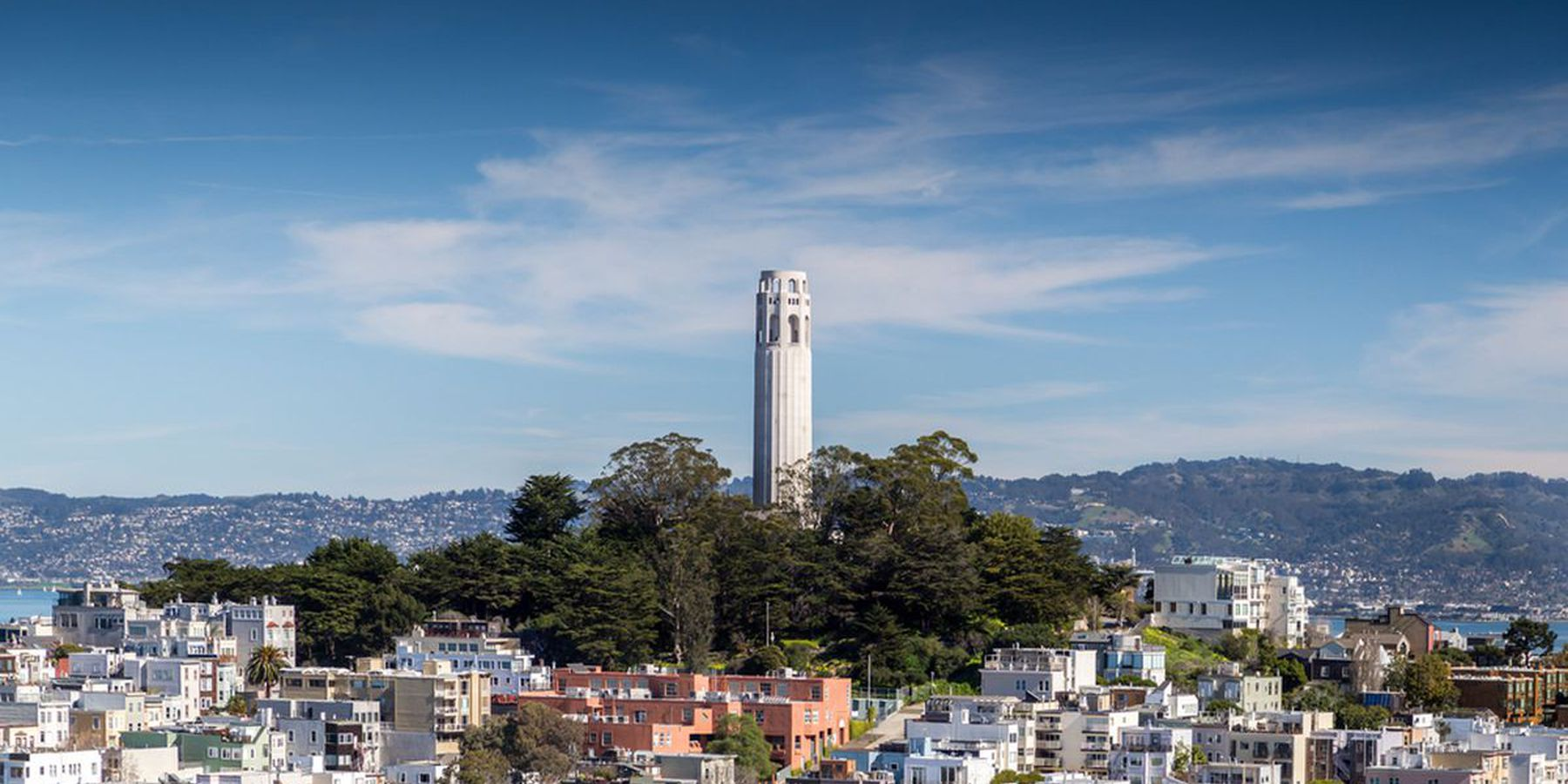Coit Tower - San Francisco - California - Amerika - Doets Reizen