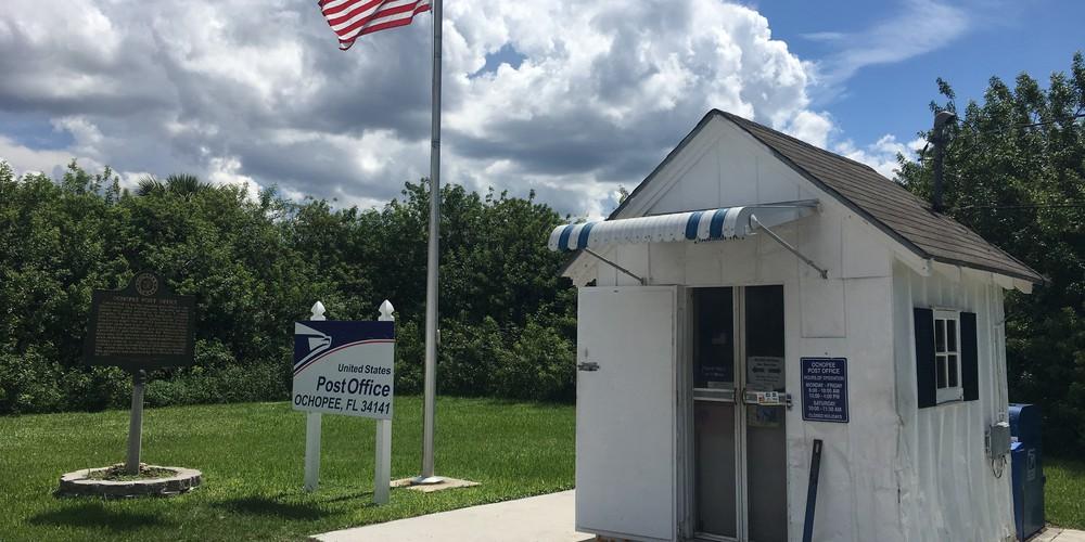 Het kleinste postkantoor van de USA - Everglades National Park - Florida - Doets Reizen