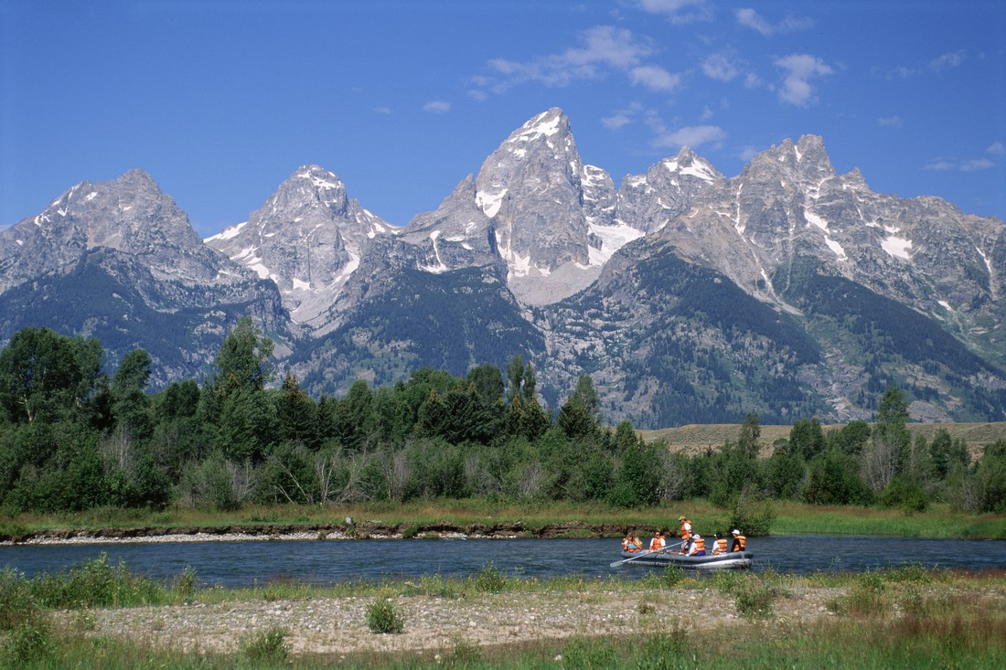 Raften - Snake River - Grand Teton National Park - Wyoming - Doets Reizen