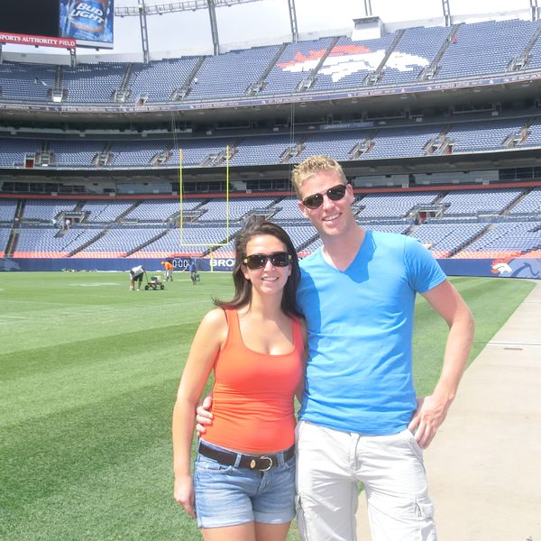 Sports Authority Field, thuisbasis van de Denver Bronco's in Denver, Colorado