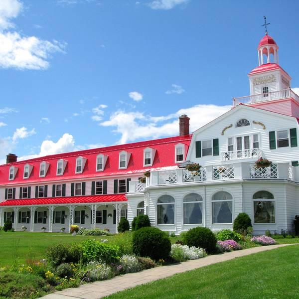 Hotel Tadoussac - Quebec - Canada - Doets Reizen